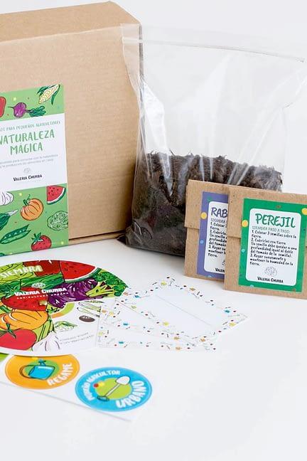 Kit Mini Huerta para Pequeños Agricultores – Naturaleza Mágica
